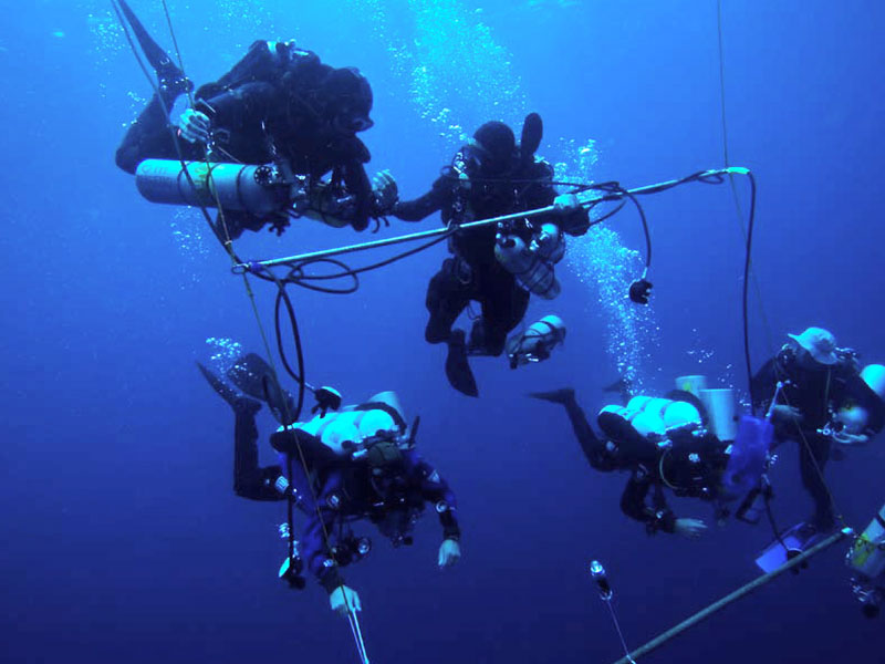 tech diving malapascua philippines evolution diving resort