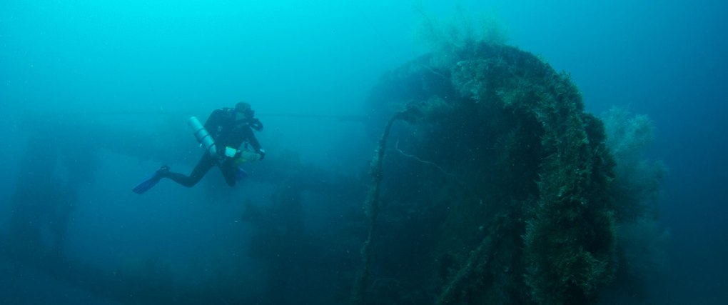 wreck diving malapascua philippines