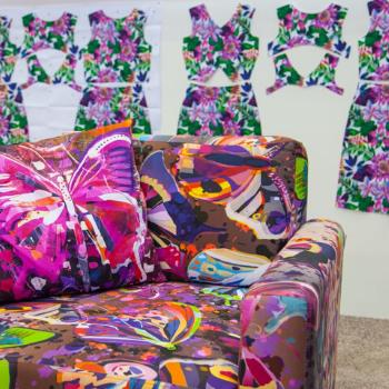 Aplicaiones Textil Sofa