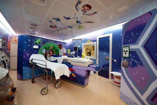 Apliocaciones Latex interiores Hospital