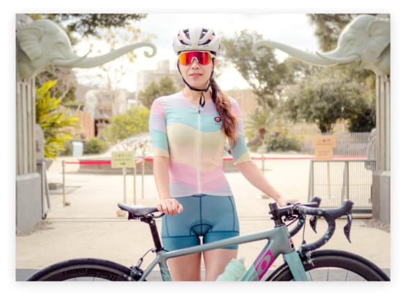 chica bicicleta