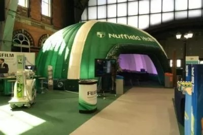 Bespoke and Branded Structures - Inflatable Structure Hire
