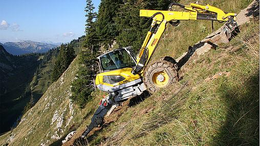 m530 m535 spider excavator
