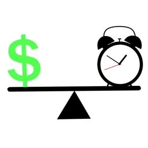 Weighing between time and money