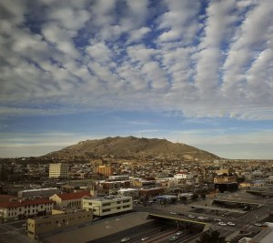 The skyline of El Paso the city of your dreams