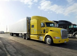 Large yellow moving truck, similar to the ones our movers Lockhart Texas use.