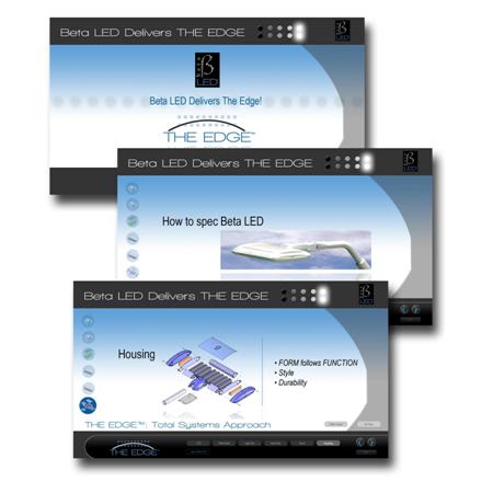 BetaLED - Touch screen kiosk development