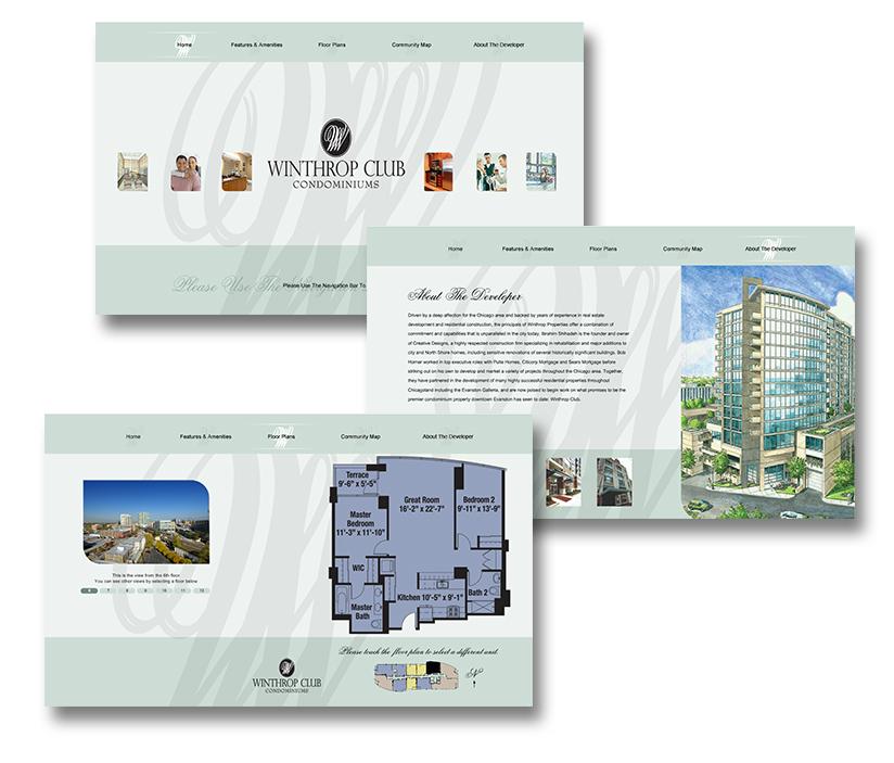 Winthrop Club (Interactive Kiosk Development)