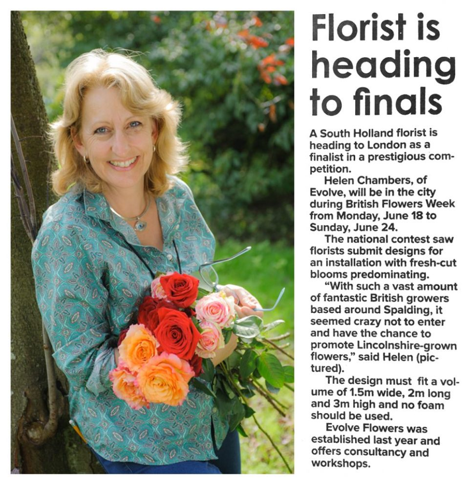 Article Florist Heading To Finals