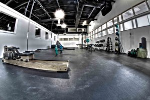 Strength conditioning room – Evolve All, martial arts training