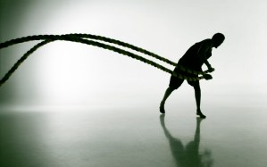 Gyasi Battle Ropes 1 - Battle Ropes - Evolve All, martial arts training