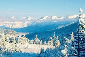 snowscape in chugach 1356 - Snowscape in Chugach