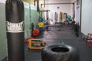 strength room at EvolveAll arlington va