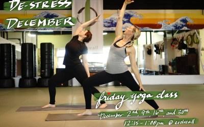 DE-stress DE-cember 😌 Friday Yoga Class