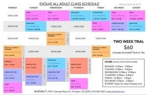 Adult Class Schedule V. 3.14 JPEG