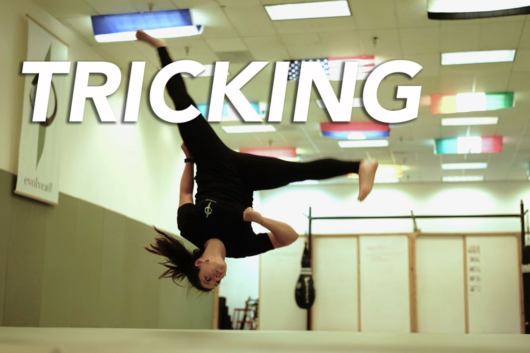 tricking - EvolveAll - Training Arts Center, VA
