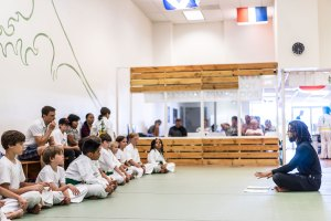 Evolveall head children's, kids and teens youth martial arts.