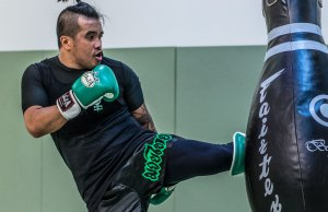 Herill Kick Bag - Herill Manrique of EvolveAll Striking Coach