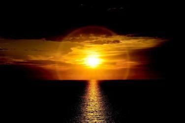 sun orb sea