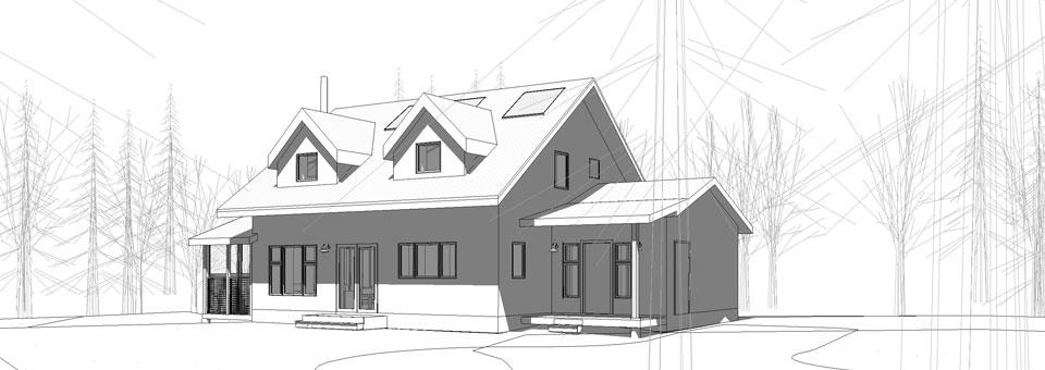 Architectural Design Of Modern Elegant Green Homes