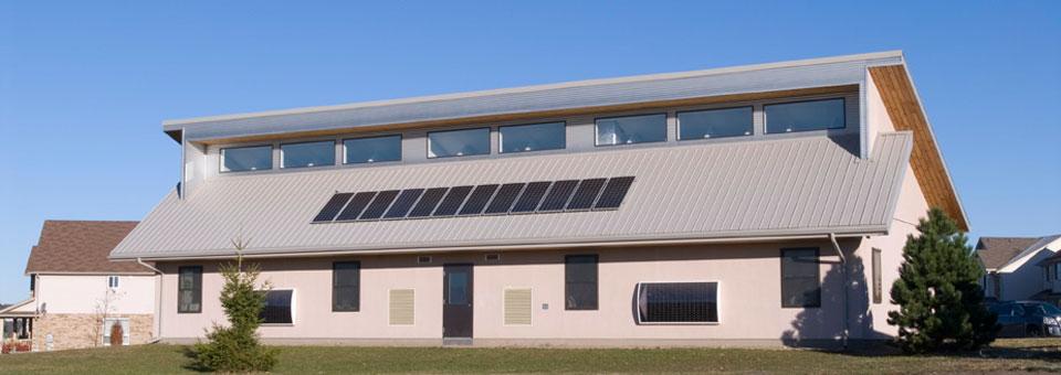 Passive Solar Design Building to Passivhaus Standards