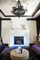 Formal living Room, Christian Guy Couches, Custom Silva Chair and Ottoman, Custom Area Rug, Piano, Italian plaster walls, custom fireplace surround