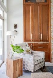 Family room, custom furniture