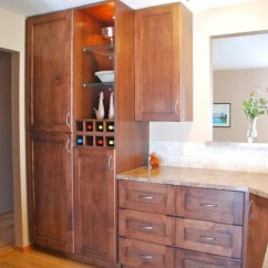 How To Make Kitchen Cabinets Inexpensive Countertops For Kitchens Portfolio By Evolve In Calgary Custom And Wine Rack