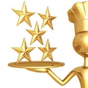 restaurant review 5 stars 2 - Evolve's 5 Star Reviews