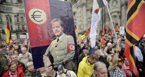Angela Merkel Pegida