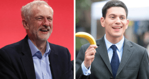 Jeremy Corbyn David Miliband
