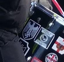 Margate WLM Drummer Nazi Insignia Close Up