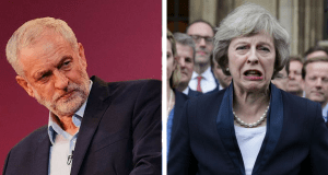Theresa May Terrified Jeremy Corbyn
