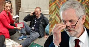 Corbyn Cameraman Kuenssberg