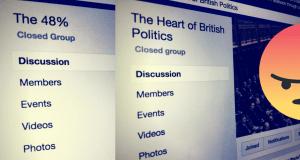 Facebook Heart of British Politics 48%