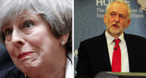 STUNNING NEW POLL shows Labour are now just FIVE POINTS BEHIND the Tories