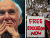 "New Lib Dem Leader Vince Cable just said scrapping tuition fees would be ""dangerous and stupid"""