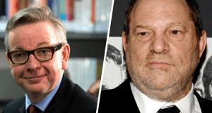 Calls for Michael Gove to be sacked after making Harvey Weinstein rape joke live on the BBC