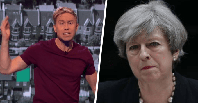 Russel Howard Theresa May Featured