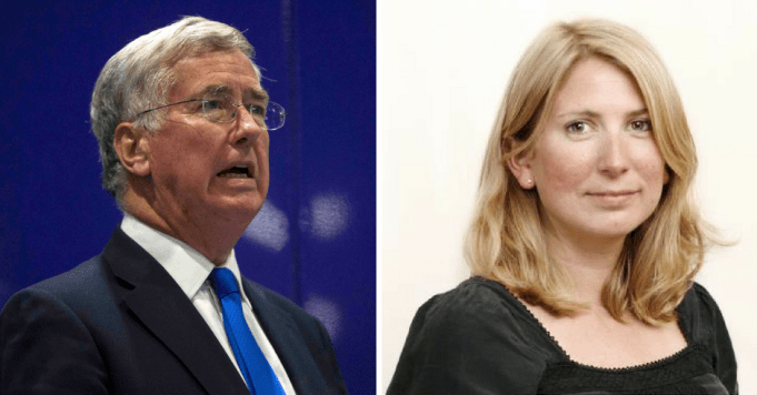 Jane Merrick Michael Fallon