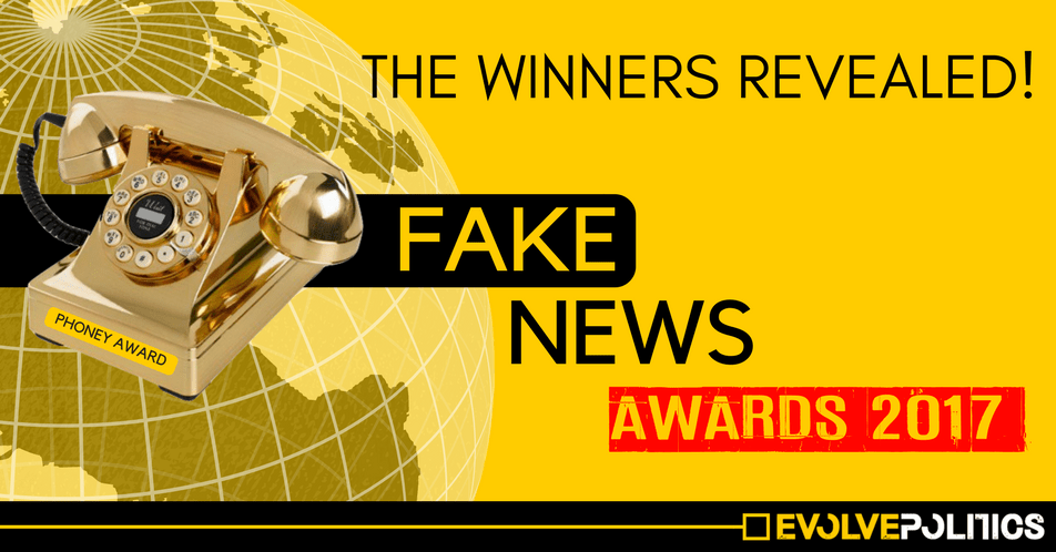 Fake News Awards 2017 - The Winners