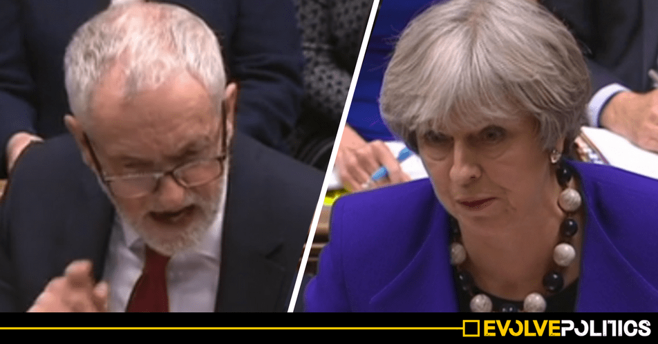 WATCH: PMQs - Ruthless Jeremy Corbyn eviscerates Theresa May's over Tory Carillion debacle