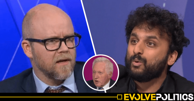 WATCH: Comedian absolutely eviscerates Toby Young for his