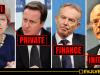 Private Finance Initiatives - PFI - Theresa May, David Cameron, Tony Blar, John Major