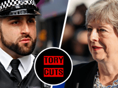 """""""Psychotic' man with gun told to email police to hand himself in as Tory cuts close local station"""