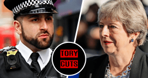 """Psychotic' man with gun told to email police to hand himself in as Tory cuts close local station"