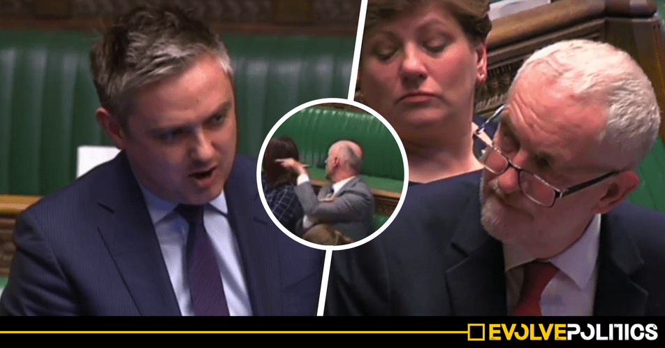 Furious Labour MPs tells Blairite John Woodcock to go sit 'on the Tory benches' after shameful attack on Corbyn in Commons