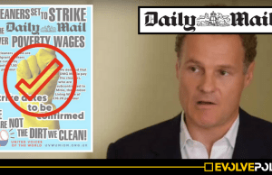 The Daily Mail's migrant cleaners just WON a monumental victory over the newspaper