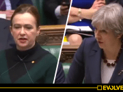WATCH: Theresa May shamelessly dodges question over huge UK exports of nuclear weapons material to Russia [VIDEO]