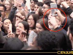 WATCH: Jeremy Corbyn MOBBED by joyous students after unveiling free bus travel for under-25s pledge [VIDEO]